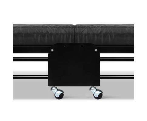 Artiss Compact Foldable Bed - Black