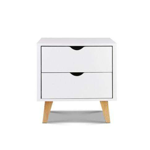 Artiss Modern Wooden Bedside Table