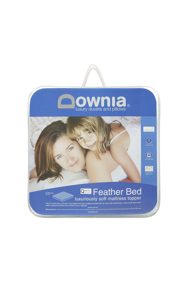 Downia Feather Bed Duck Down Mattress Topper