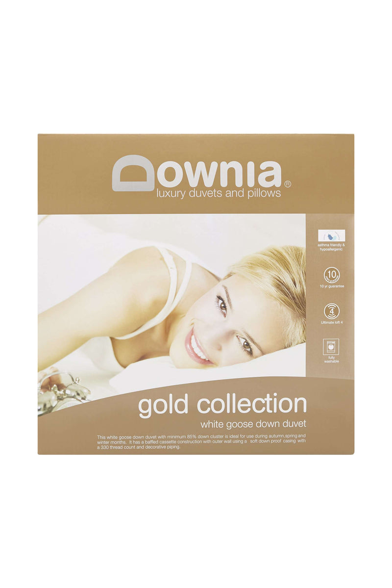 Downia Gold Collection 85 White Duck Down Quilt