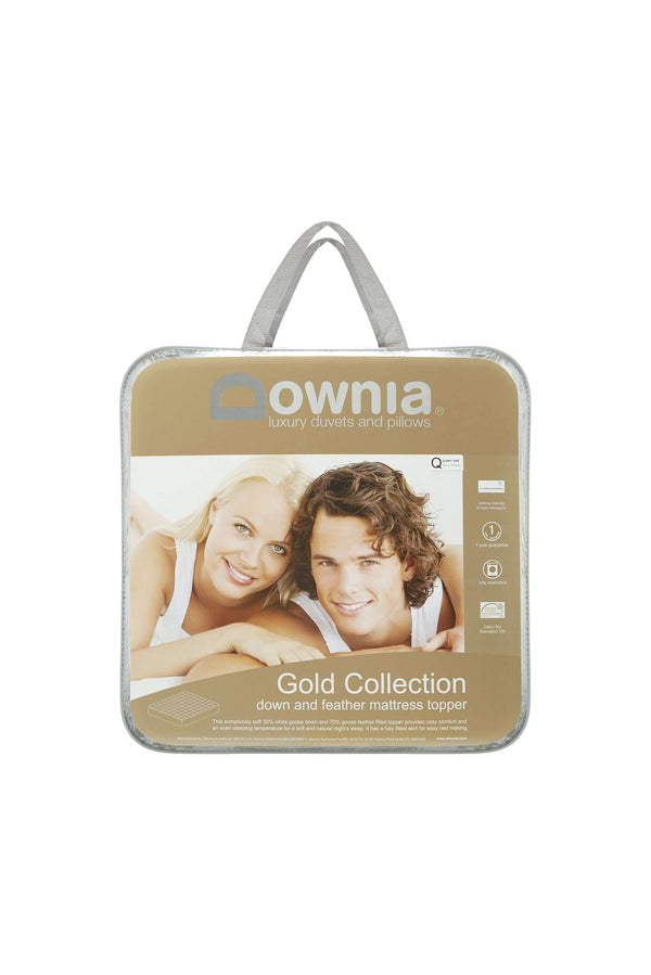 Downia Gold Collection Goose Mattress Topper