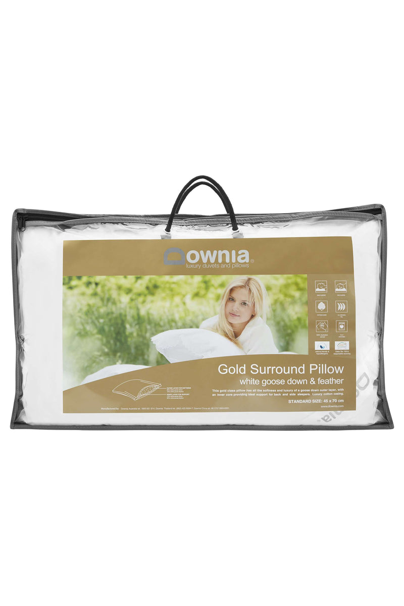 Downia Gold Surround Collection 90 Goose Pillow
