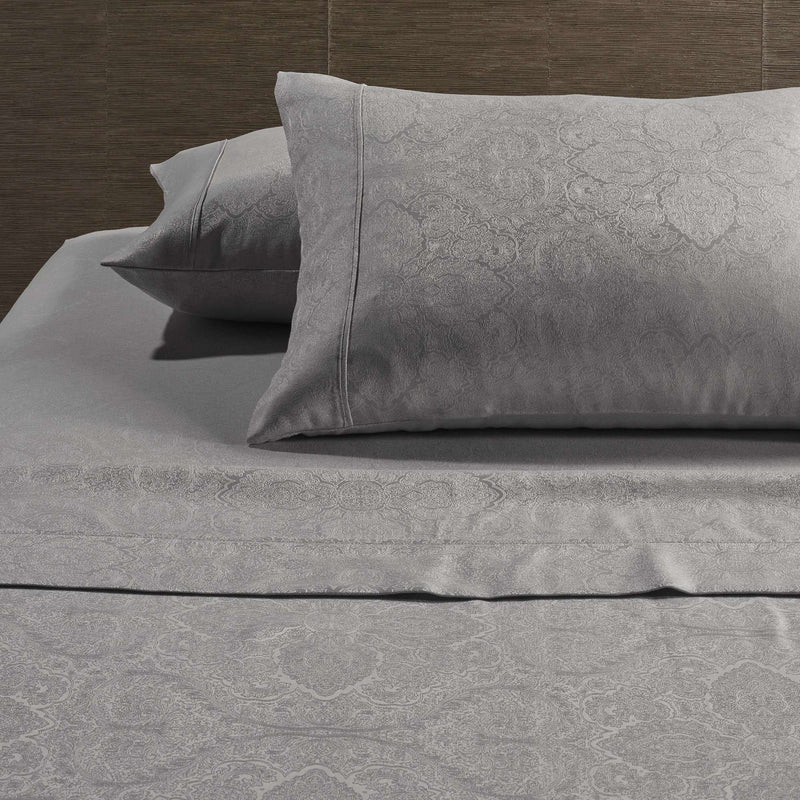 Grey Hotel Sheet Set