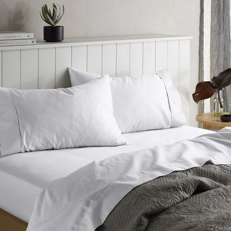 Accessorize 1500TC Cotton Rich Sheet Set - White