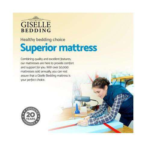 Giselle Premier Ultra-firm Mattress-Mattresses-Giselle-Big Bedding Australia