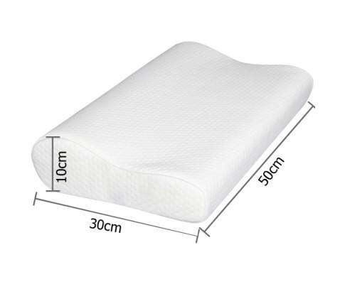 Giselle Bedding 2 x Visco Elastic Memory Foam Pillows