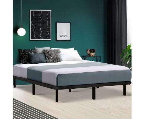 Metal Bed Base - Black