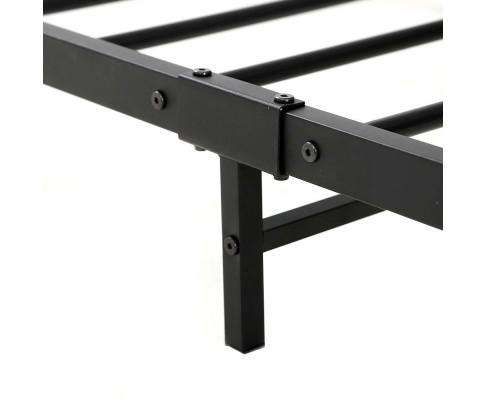 Metal Bed Frame Mattress Base Platform Foundation Black Dane