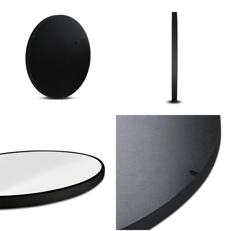 Embellir Round Wall Mirror Makeup Bathroom Mirror - 3 Sizes-Mirror-Embellir-Big Bedding Australia