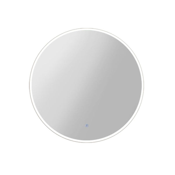 Embellir LED Wall White Mirror With Light Decorative Round - 5 Sizes-Mirror-Embellir-Big Bedding Australia