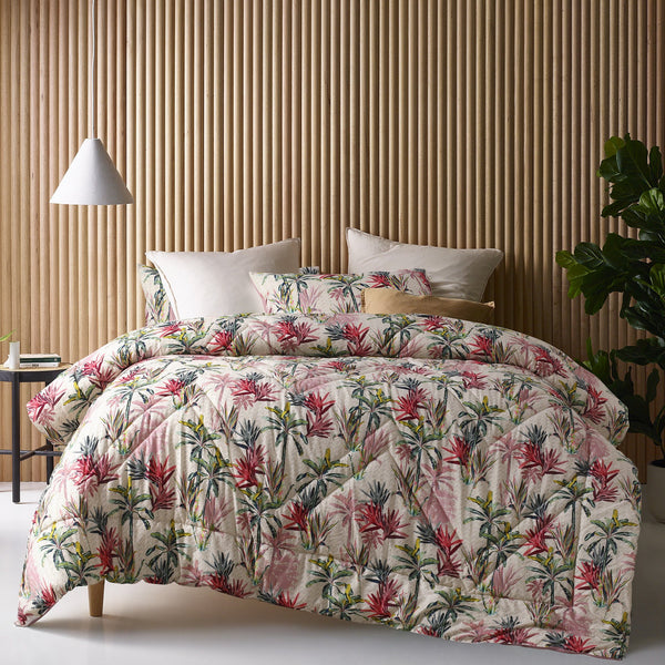 Accessorize Elka 180TC Cotton Digital Printed 3pc Comforter Sets