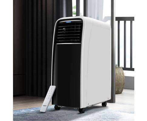 Portable Air Conditioner Cooling Mobile Fan Cooler Dehumidifier White 2500W