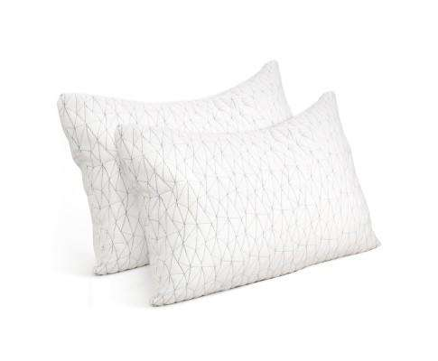 Giselle Bedding Set of 2 Rayon King Memory Foam Pillow