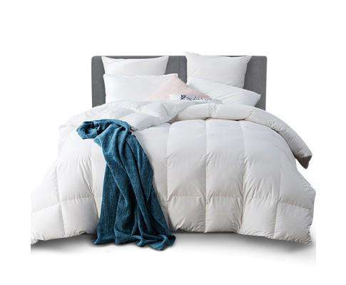 Giselle Bedding Goose Down Quilt - 500GSM