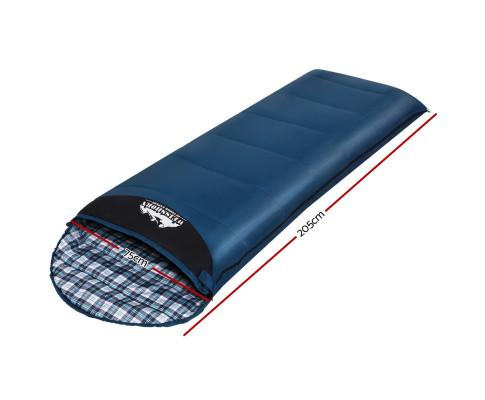 Weisshorn Sleeping Bag Single Camping Hiking Winter Thermal