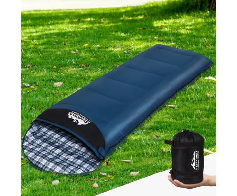 Sleeping Bag Single Camping Hiking Winter Thermal