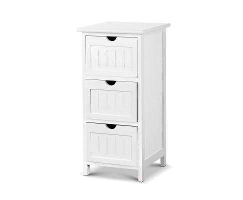 Artiss Bedside Table - White