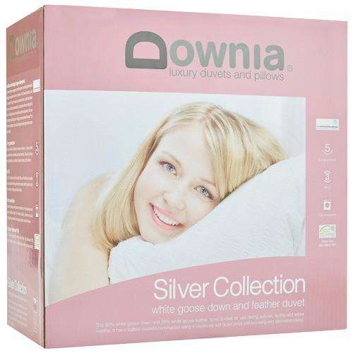 Downia Silver 50 Goose Down & Feather Quilt