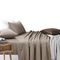 Amsons Beige Bedsheets Set- Flat & Fitted Sheets With Pillowcases