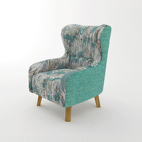 Rose Arm Chair Printing on Seat