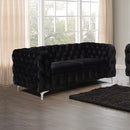 Jacques 2 Seater Black Colour