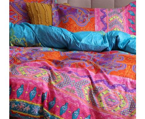 3pcs Boho Mandala Quilt Cover Set(3PCS)