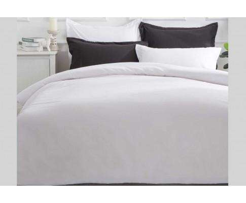 Luxton White Color Quilt Cover Set