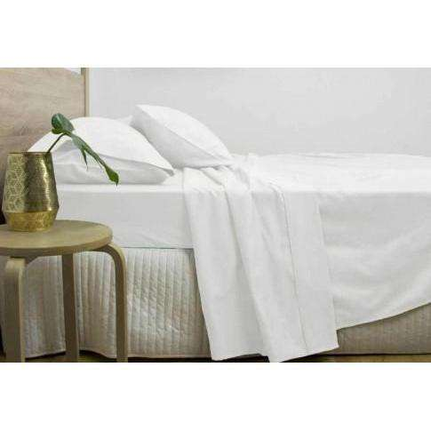 Ardor 3000TC Cotton Rich Sheet Set - Charcoal & White-Bed Sheets-Ardor Bedding-White-Queen-Big Bedding Australia