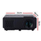 Devanti Mini Video Projector Wifi USB Portable 1000 Lumens HD 1080P Home Theater