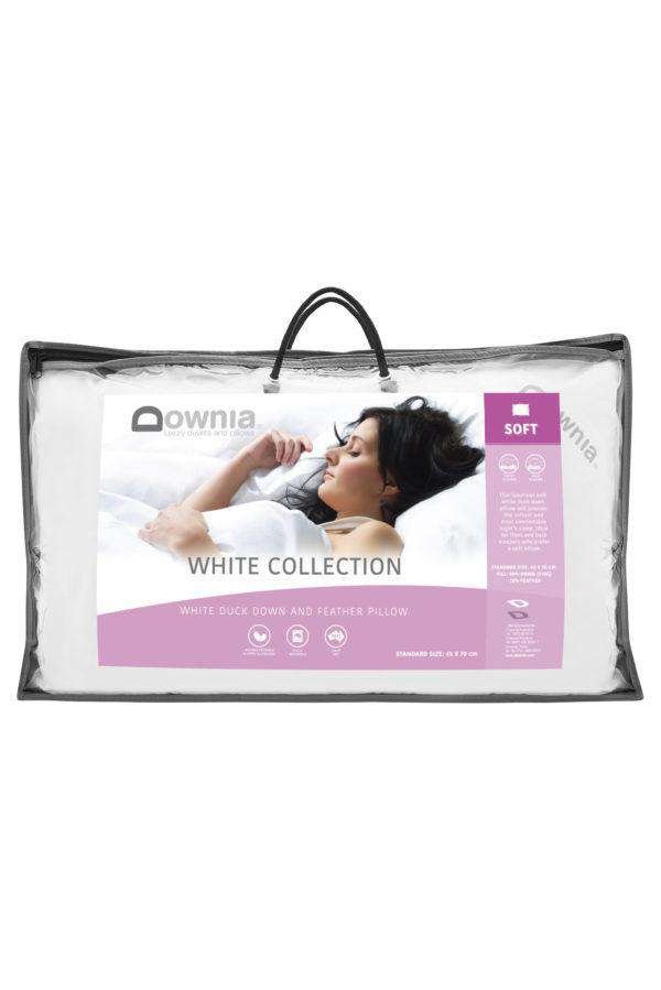 Downia White Collection 85 Goose Pillow