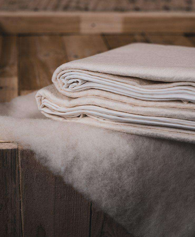 Aussie Wool Comfort Pure Cotton Mattress Protector