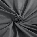 121x92cm Cotton Anti Anxiety Weighted Blanket Cover Protector Grey