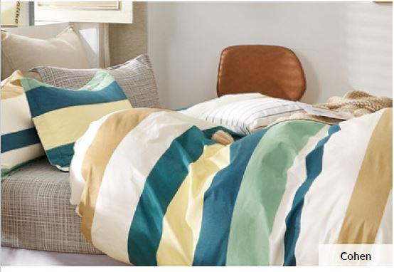 Odyysey Living Cohen Cotton Quilt Cover Set