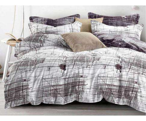 Luxton 3pcs Art Line Quilt Cover Set