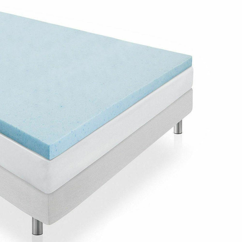 5cm Thickness Cool Gel Memory Foam Mattress Topper Bamboo Fabric King