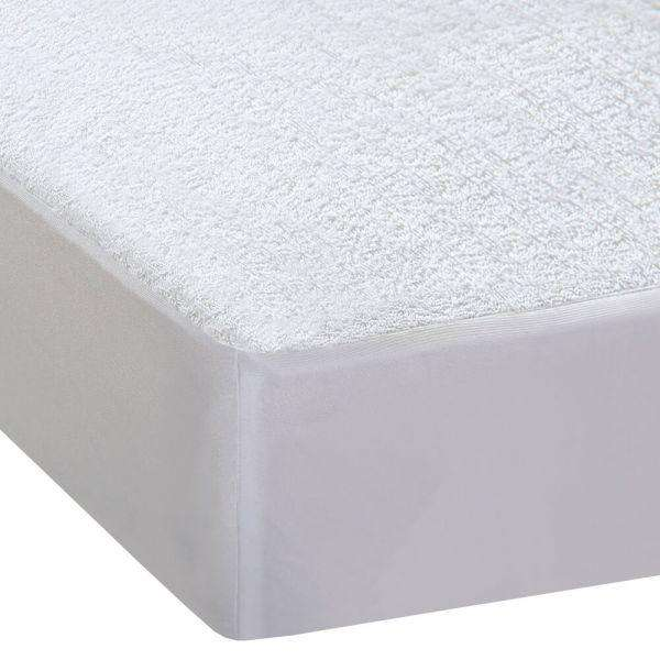 DREAMZ TERRY COTTON FULLY FITTED WATERPROOF MATTRESS PROTECTOR