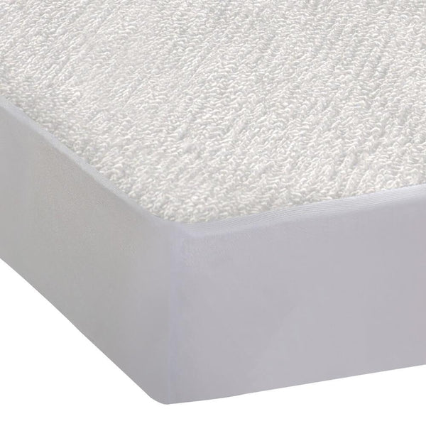 Fitted Waterproof Mattress Protector with Bamboo Fibre Cover Queen Size