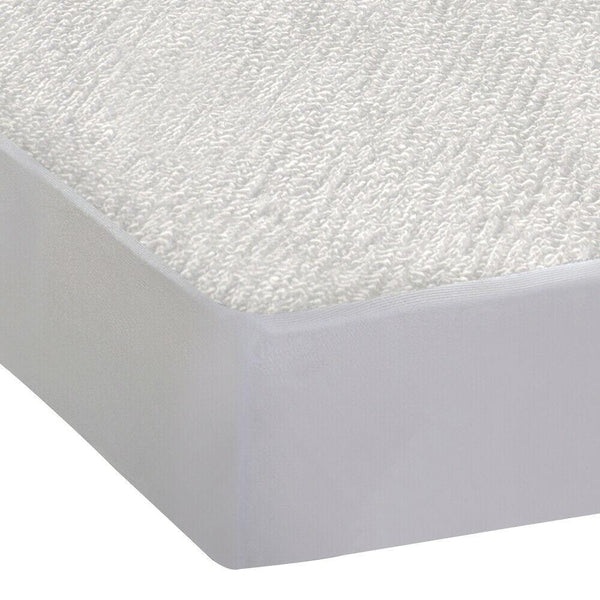 Fitted Waterproof Mattress Protector with Bamboo Fibre Cover King Size