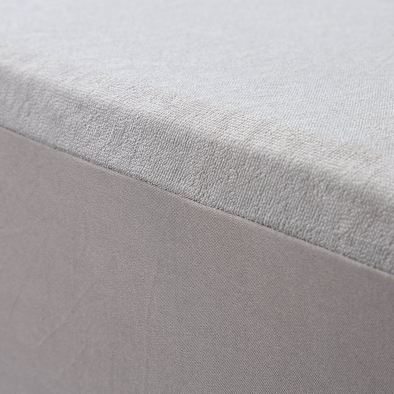 Mattress Protector Fitted Sheet Cover Waterproof Cotton Fibre Double