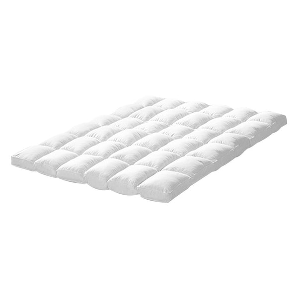 Luxury Bedding Pillowtop Mattress Topper Mat Pad Protector King Single