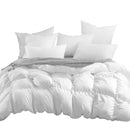 DreamZ 700GSM All Season Duck Down Feather Filling Duvet in Super King Size