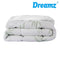 Bamboo Pillowtop Mattress Topper Protector Waterproof Cool Cover King