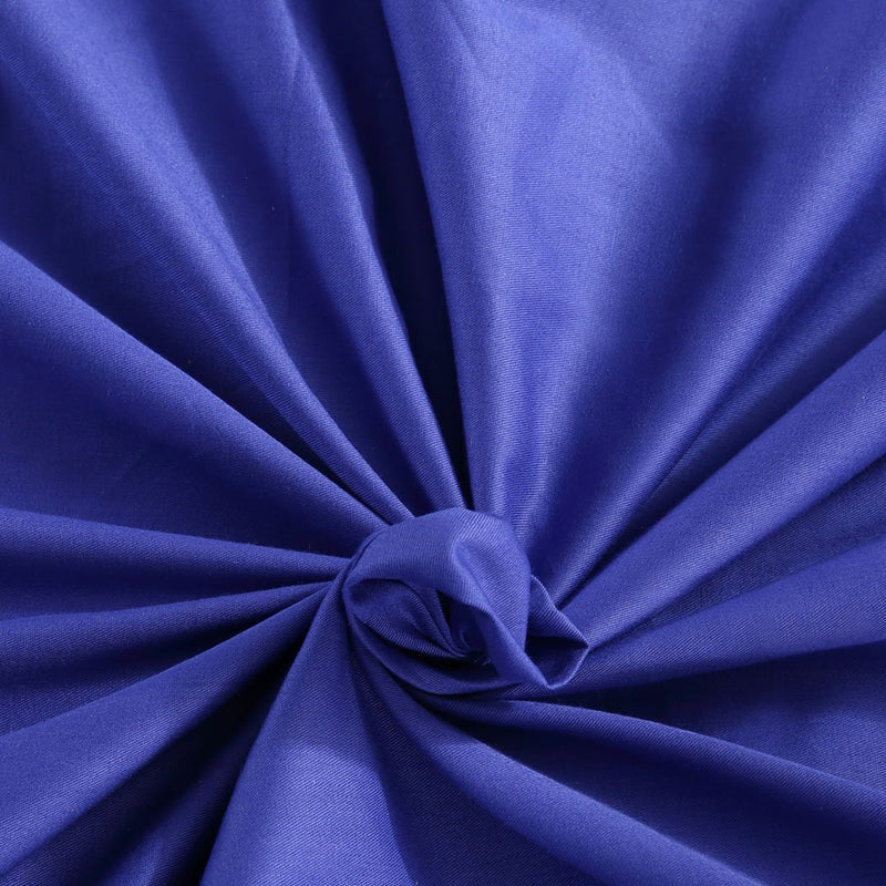 121x92cm Cotton Anti Anxiety Weighted Blanket Cover Protector Blue