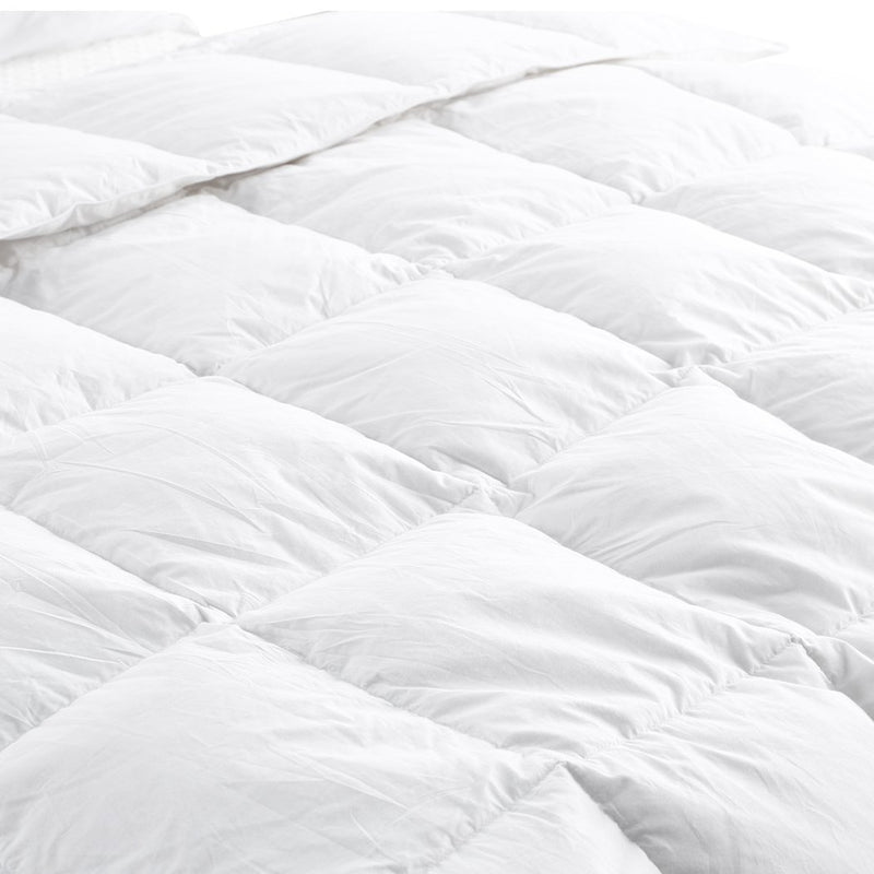 DreamZ 700GSM All Season Duck Down Feather Filling Duvet in King Single Size