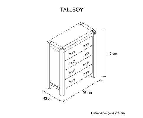 Java Tallboy Oak