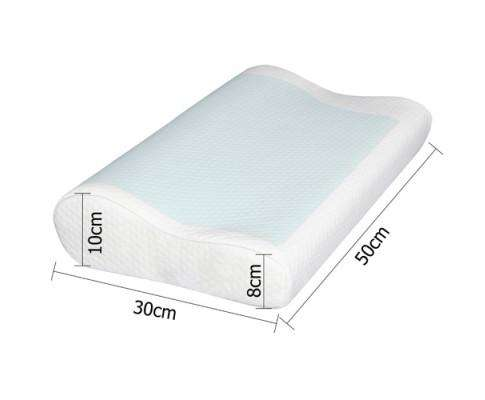 Giselle Bedding Set of 2 Cool Gel Memory Foam Pillows