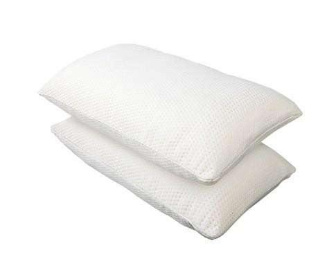 2 x Visco Elastic Memory Foam Pillows