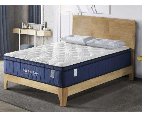Deep Dream Cool Gel Memory Foam Mattress 5 Zone Latex