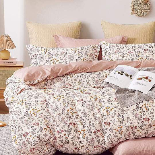 Odyysey Living Imogen Cotton Quilt Cover Set