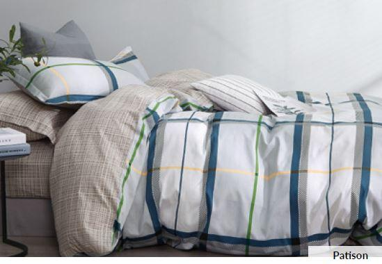 Odyysey Living Patison Cotton Quilt Cover Set